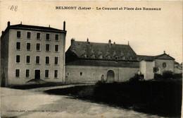 CPA BELMONT - Le Couvent Et Place Des Rameaux (430286) - Belmont De La Loire