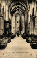 CPA AK BELMONT - Intérieur De L'Église (430625) - Belmont De La Loire
