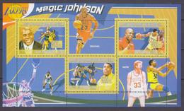 2009 Guinea 6710-6712KL Sports - Baseball Magic Johnson 10,00 € - Pallacanestro