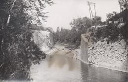 Carte Photo Bombardement Du Pont Des Rosiers Ligne Pontarlier Vallorbe - La Cluse Et Mijoux - RARE ! 1939-1944 - Other Municipalities