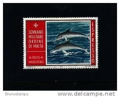 S.M.O.M. - 1975  DOLPHINS  125 G.  MINT NH - Sovrano Militare Ordine Di Malta