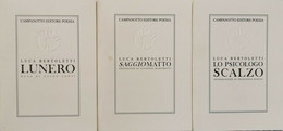 Luca Bertoletti Cofanetto 3 Libri - ER - Poesie