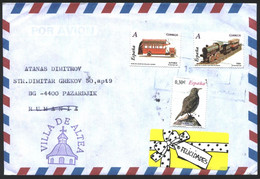Mailed Cover With  Stamps Toys Fauna Bird  2007 From Spain - 2001-10 Storia Postale
