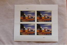 U.S.A.; 2021, Schnellpostmarke: Castillo De San Marcos, MiNr.5787, Folienblatt, MNH - Blocks & Sheetlets