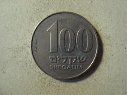MONNAIE ISRAEL 100 SHEQALIM 1984 / 5744 - Israel