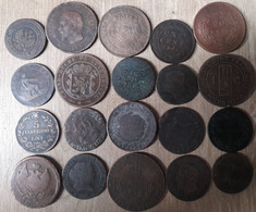 Lot De 20 Monnaies à Saisir Pour ėtudes - Non Classificati