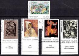 IL13B- ISRAEL – 1972 – ISRAELI ART – Y&T # 476/480 MNH 7,75 € - Ungebraucht (mit Tabs)