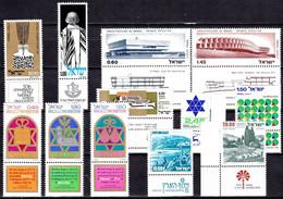 IL16- ISRAEL – 1974-78 - MNH LOT – Y&T # 544→707 MNH 13,20 € - Ungebraucht (mit Tabs)