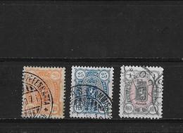 Finlande Yv. 31 - 33 O. - Used Stamps