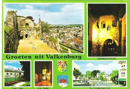 SCENES FROM VALKENBURG, HOLLAND. USED POSTCARD Ak4 - Valkenburg
