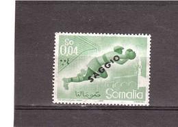 1958 SPORT SAGGIO - Somalia (AFIS)