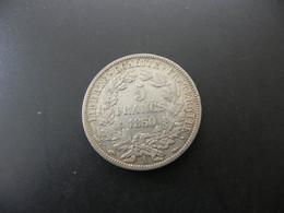 France 5 Francs 1850 A Silver - J. 5 Francs