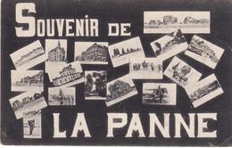 DE PANNE SOUVENIR DE LA PANNE CARTE MULTI VUES TAXEEE EN FRANCR - De Panne