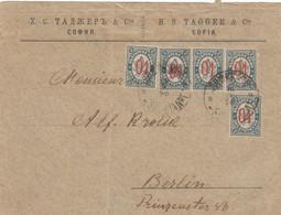 Bulgaria >  1896  Sofia-Berlin Mi: 19.01.1896 - Covers & Documents
