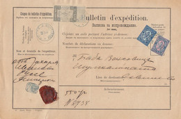 Bulgaria >  1890  Russe - Sevlievo 12.04.1890 - Covers & Documents