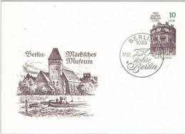 Berlin Märkisches Museum 1987 Palais Ephraim - Postkarten - Gebraucht