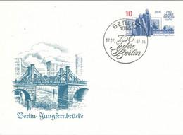 Berlin Jungfernbrücke 1987 Marx-Engels-Forum - Postkarten - Gebraucht