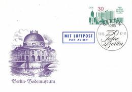 Berlin Bodemuseum  1987 Alt Marzahn Neubauten - Postkarten - Gebraucht