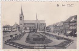 Geel - Grote Markt (Van Hove-Daems) (gelopen Kaart Met Zegel) - Geel