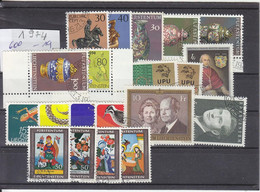 Liechtenstein Jahrgang 1974 Gestempelt O, MiNr. 600 - 619 - Gebraucht