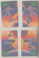 ISRAEL 2002 UNITED SPACE PROGRAM USA USSR NASA PUZZLE - Spazio