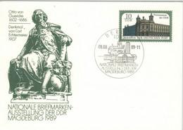 Otto Von Guericke Magdeburg Berlin 1989 - Postmuseum - Postkarten - Gebraucht