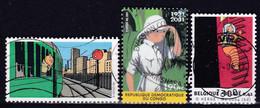 3048 3252 Vignette Duostamp Tintin Bande Dessinée BD - Gebruikt