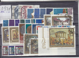 Liechtenstein Jahrgang 1978 Gestempelt O, MiNr. 692-722 - Gebraucht