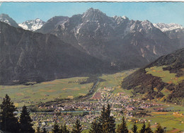 A351) Dolomitenstadt LIENZ Gegen Weittal Spitze U. Spitzkofel Von Oben - Tolle ältere AK - Lienz