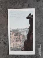 DETROIT PHOTOGRAPHIC CO CARTE POSTALE VINTAGE POSTCARD 1904 YOSEMITE VALLEY GLACIER POINT SOUTH DOME   TBE - USA National Parks