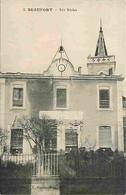 73 - Beaufort - Les Ecoles - Oblitération Ronde De 1922 - CPA - Voir Scans Recto-Verso - Beaufort