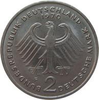 LaZooRo: Germany 2 Mark 1970 F UNC - 2 Mark