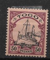 Deutsche Auslandspost,  Schöner Wert Der Ausgabe Für Togo Von 1900 Ohne Wasserzeichen - Kolonie: Togo