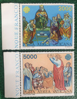 1983 - Vaticano - Posta Aerea Vaticana - Serie Due Valori - Nuovi - Nuovi