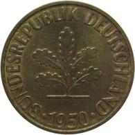 LaZooRo: Germany 10 Pfennig 1950 F UNC - 10 Pfennig