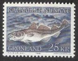 GRONLAND - FISHES - **MNH - 1981 - Ungebraucht
