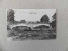 Granges-sur-Vologne Le Pont Frambémenil  Sur La Vologne 30 - Granges Sur Vologne