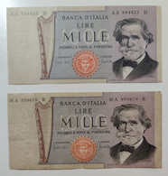 1000 Lire 25-03-1969 Giuseppe Verdi - 1000 Liras
