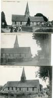 SAINT ANDRE Sur CAILLY - L' EGLISE - LOT De 3 CPA  - - Autres Communes