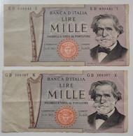 1000 Lire 11-03-1971 Giuseppe Verdi - 1000 Liras