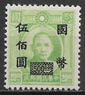 China 1946. Scott #689 (M) Dr Sun Yet-Sen - 1912-1949 Republik