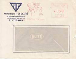 Vigneux Sur Seine-4/5/1966-Machine MG1280-SIF-3 Fils - Illustration: Chaise-Mobilier Tubulaire - EMA (Printer Machine)