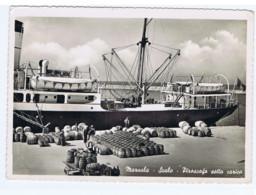 MARSALA - SCALO - PIROSCAFO SOTTO CARICO - EDIZIONE G.S.P. SPEDITA 1953 (8098) - Marsala