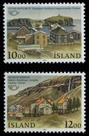 ISLAND 1986 Nr 650-651 Postfrisch SB048EA - Neufs