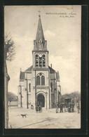 CPA Neuilly-Plaisance, L`Église,  Vue De L'Église - Neuilly Plaisance