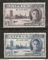 LOTE 2192  ///    (C043) COLONIAS  INGLESAS   - CHIPRE 1946 *MH   ¡¡¡ OFERTA - LIQUIDATION !!! JE LIQUIDE !!! - Cyprus (...-1960)