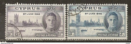 LOTE 2192  ///    (C038) COLONIAS  INGLESAS   - CHIPRE 1946     ¡¡¡ OFERTA - LIQUIDATION !!! JE LIQUIDE !!! - Cyprus (...-1960)