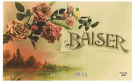 60 UN BAISER    DE   BETZ   CPM  TBE  1461 - Other Municipalities