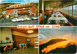 CPSM Saluti Dall Etna-Timbre    L984 - Unclassified