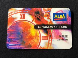 Warranty Guarantee Card, Set Of 1 Used Card - Singapore
